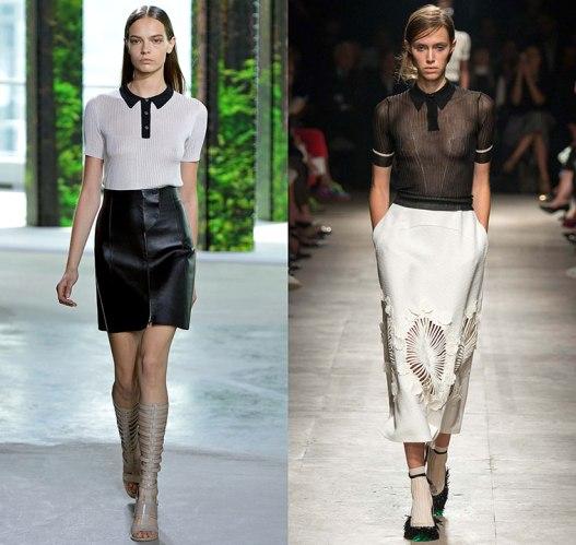 happenstijl-trend-twins-fashion-face-off-runway-spring-summer-2015-hugo-boss-jason-wu-rochas-knit-polo-tricot-skirt-black-white